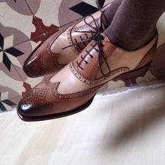 NEW Handmade Mens Brogue Wingtip Shoes Mens Oxford Shoes Lace Up Formal Shoes in Clothes, Shoes & Accessories, Men's Shoes, Formal Shoes Lace Up Shoes, Men's Shoes, Shoe Boots, Dress Shoes, Shoes Men, Dress Clothes, Shoes Style, Ankle Boots, Leather Men
