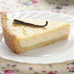 Tarte à la vanille