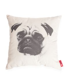 Pug Dog Decorative Throw Pillow