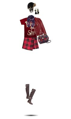 """""""Punk Rock Plaid"""" by sinesnsingularities ❤ liked on Polyvore featuring Burberry, Jakke, Nature Breeze, Draper James, Humble Chic, contest, indie, Punk and plaid"""