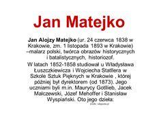 Oto prezentacja kilku z polskich przedstawicieli tej epoki ... Romans, Literatura, Novels