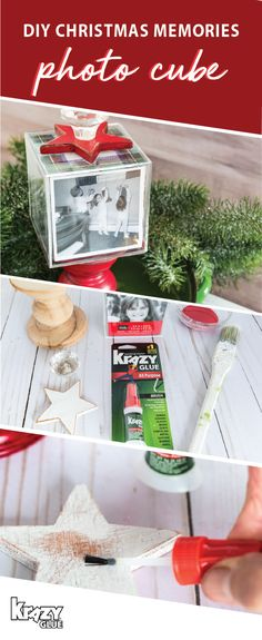 There's something about handmade holiday decorations that just add so much charm to your home! To try your hand at this seasonal sensation, check out this craft tutorial for a Christmas Memories Photo Cube. Using Krazy Glue, this project is surprisingly easy to create, and when you finish it with festive paint colors, you can bet that it'll be ready to add cheer to any room of your home. To stock up on all the supplies and essentials you'll need, head over to Target.