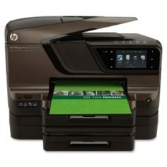 Officejet Pro 8600 Premium e-All-in-One Printer delivers professional-color documents for up to 50 percent lower cost per page than lasers and accelerates productivity with apps on the large, intuitive, 4.3 touch screen, networking options and versatile