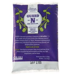 Stops critters from eating bean/pea seeds http://www.johnnyseeds.com/p-6682-garden-combination-og-inoculant.aspx
