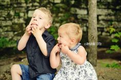 Toddler photography. Siblings. Brother and sister photography