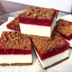 Healthy Sweets, Healthy Recipes, Cheesecake, Sweets Cake, Polish Recipes, Homemade Cakes, Love Food, Cake Recipes, Bakery