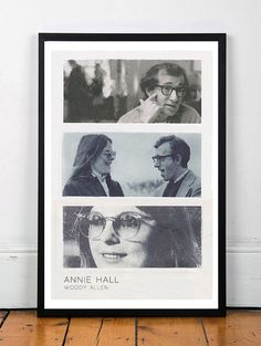ANNIE HALL Woody Allen Original Art by BlackSheepWhiteSheep