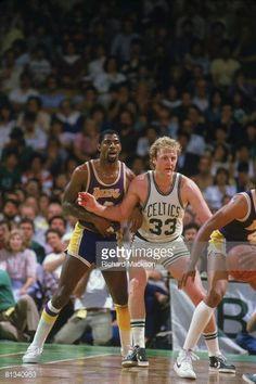 Fotografia de notícias : finals, Los Angeles Lakers Magic Johnson in...