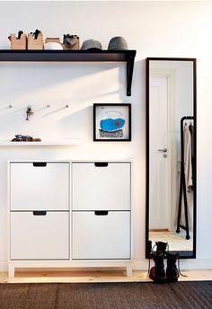 6 Ideias Para Incluir Na Entrada Da Sua Casa Hallway Ideasentryway Shoe Storageorganized
