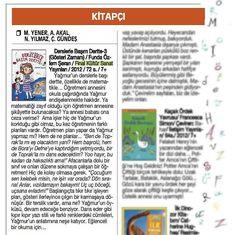 Derslerle Başım Dertte 3: Gösteri Zamanı (Funda Özlem Şeran) - Cumhuriyet Kitap, 01.11.2012  [KİTABI İNCELEMEK İÇİN RESME TIKLAYIN]