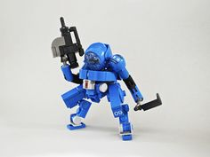 'MDG Adaptive Combat Platform' and other great LEGO drone designs by Ironsniper.
