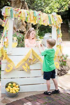 Create a Magical Garden Lemonade Stand.