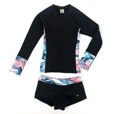 4fbda66603 Next By Athena Girl's Summer Shade Rashguard Swimsuit Set - Sun & Ski Sports