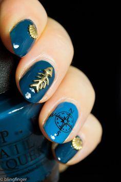 blingfinger:  Sea Nail Art