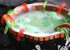 Add a little magic to your Halloween party with foodie ideas that are full of theatrics