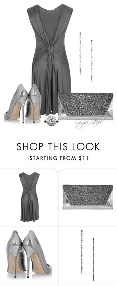 """""""La Dolce Vita"""" by orysa ❤ liked on Polyvore featuring Dorothy Perkins, Jimmy Choo and jimmy choo"""