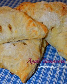 #Apple Turnovers at AMothersShadow.com.  So easy and a nice warm treat on a cold day!