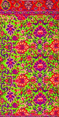 ethnic floral