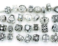 Ten (10) of Assorted Shades of Diamond Clear Crystal Rhinestone Beads (Styles You Will Receive Are Shown in Picture Random 10 Beads Mix) Charms Spacers for Bracelets Fits Pandora, Biagi, Troll, Chamilla and Many Others - http://www.wonderfulworldofjewelry.com/jewelry/charms/ten-10-of-assorted-shades-of-diamond-clear-crystal-rhinestone-beads-styles-you-will-receive-are-shown-in-picture-random-10-beads-mix-charms-spacers-for-bracelets-fits-pandora-biagi-troll-chamilla-and-/ - Y