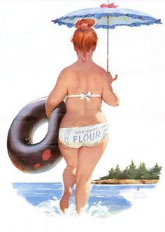 Fans of Duane Bryers' Hilda character may have noticed Joëlle's nod to the plus-sized pin-up girl in the design of Stenholm's secretary in Lady Killer Bryers created calendars featuring the. Arte Pin Up, Pin Up Art, Pin Up Girls, Girls Fun, Surf Girls, Body Positive Quotes, Estilo Pin Up, Plus Size Girls, Dita Von Teese