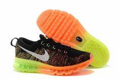 best service ec25b 505a8 Buy Running Shoes Nike Flyknit Air Max Black Atomic Orange Volt White Super  Deals from Reliable Running Shoes Nike Flyknit Air Max Black Atomic Orange  Volt ...