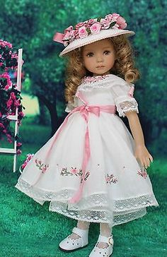 Heirloom-Ensemble-for-Effner-13-Little-Darling-Dolls-by-Petite-Princess-Designs. Ends 8/25/14. Start bid is $175.00. SOLD for $263.88