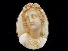 Ivory cameo c.1870