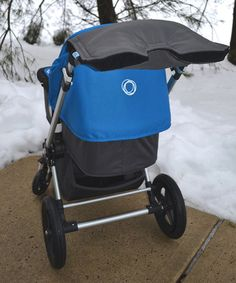 This London Gray & Black Stroller Hand Muff by Tivoli Couture is perfect! #zulilyfinds