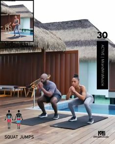 A full body HIIT workout — no equipment required Improve heart health, increase fat loss and strengthen and tone your muscles. Fitness Workouts, Gym Workout Videos, Fitness Workout For Women, Body Fitness, Health Fitness, Full Body Gym Workout, Hitt Workout, Physical Fitness, Workout Programs
