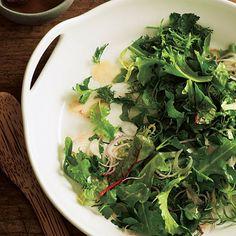 Green Salad with Hazelnut Vinaigrette by Cooking Light