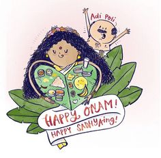 [Photos] Happy Onam 15 Beautiful Onam Photographs Will Brighten Up Your Day! Onam Images, Festival Paint, Onam Festival, Happy Onam, Art Optical, Indian Festivals, Art Drawings Sketches, Cute Illustration, Doodle Art