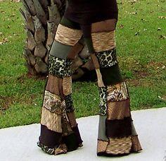 Hula Hoop Dance Pants Flow Pants Hippie by FallenWildflowers