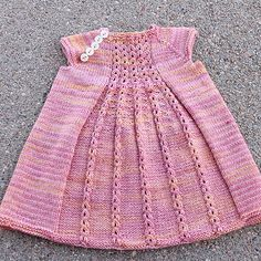 #babyknits #babydress #kidknits
