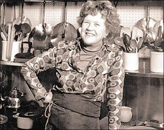 The lovely & passionate Julia Child