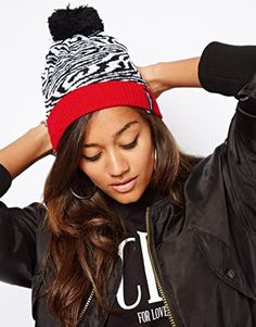 Discover the latest fashion and trends in menswear and womenswear at ASOS. Knit Beanie Hat, Giraffe, Asos, Wings, Knitting, My Style, Red, Beanies, Felt Giraffe