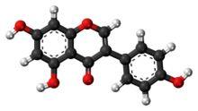Genistein molecule