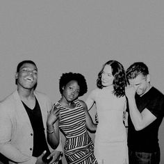 John, Lupita, Daisy, and Oscar.  Finn, Maz, Rey, and Poe They are the same people to me