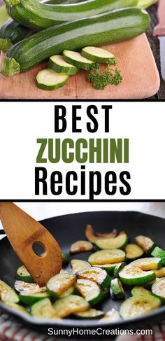 Here are the best zucchini recipes to use up all your zucchini.  If you have a large zucchini harvest, you'll want to make sure to see these zucchini recipes. Large Zucchini Recipes, Zucchini Dinner Recipes, Quick Lunch Recipes, Healthy Crockpot Recipes, Veggie Recipes, Summer Recipes, Real Food Recipes, Ginger Ale Recipe, Frugal Meals