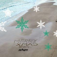 Merry Christmas everyone love all at ishga 🎄X Merry Christmas Everyone, Beaches, Sands, The Beach
