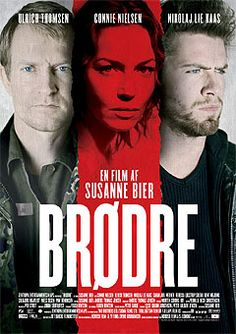 Brothers, Danish: Brødre, 2004 Danish drama film directed by Susanne Bier and written by Bier and Anders Thomas Jensen. It stars Nikolaj Lie Kaas, Connie Nielsen and Ulrich Thomsen. Brothers Film, Danish Movies, American Version, Indie Films, Free Tv Shows, Go To Movies, Great Films, Hollywood Star, Drama Film