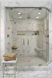 Contemporary Bathroom Shower Design, Pictures, Remodel, Decor and Ideas - page 16 Bathroom Inspiration, Master Shower, Bathrooms Remodel, Bathroom Design, Marble Showers, Modern Shower Design, Shower Storage, Tile Bathroom, White Marble Shower