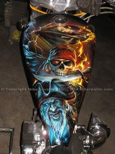 Cool paint job