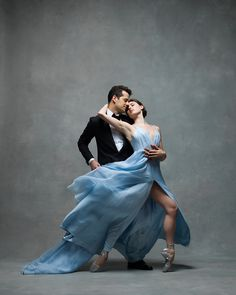 Tiler Peck and Robert Fairchild, Principals, New York City Ballet  - ELLE.com