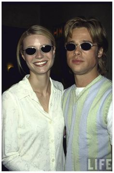 gwyneth-paltrow-and-brad-pitt-both-wearing-sunglasses-at-party-for-her-film-22the-pallbearer-ave-allocca-1996.jpeg (852×1290)