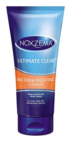 Noxzema Ultimate Clear Bacteria Fighting Cleanser, 6 Ounce ** Special  product just for you. See it now! : Cleansers