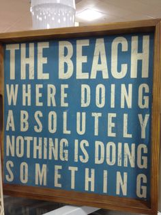 Beach, can't wait for vacation