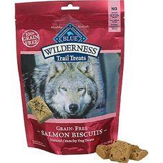 Blue Buffalo Wilderness Trail Treats Grain-Free Salmon Dog Biscuits, 10 oz. - List price: $16.99 Price: $7.62