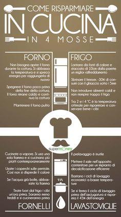 Risparmia #energia in #cucina con quattro semplici mosse!