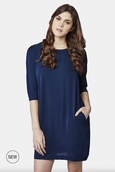 ea8995c49ba Pair with leggings for an evening out! AND - Indigo Edge Shift Dress  Western Wear