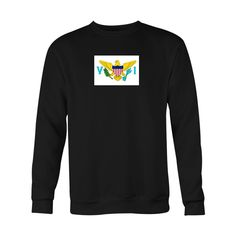 *HOLIDAY SPECIAL* Virgin Islands Flag Crewneck Sweatshirt